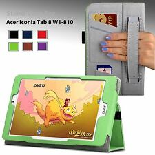"""PU Leather Case Cover Stand For Acer Iconia Tab 8 W (W1-810) 8.0"""" 8-Inch Tablet"""