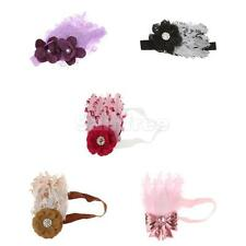 Cute Girl Kids Baby Infant Soft Hair Band Decor Feather Party Flower Headband