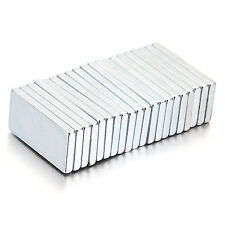 Super Strong Block Magnets Rare Earth Neodymium 20x10x2mm Powerful Disc