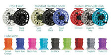 TIBOR SIGNATURE FLY FISHING REEL 5-6 WEIGHT ALL COLOURS/ HUB COLOUR OPTIONS