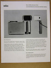 1958 Braun Hobby Special Electronic Flash photo vintage print Ad