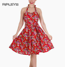 Dolly and Dotty CYNTHIA Vintage Dress   Red Flowers Floral All Sizes