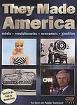 They Made America (DVD, 2004, 2-Disc Set) Rebels, Revolutionaries, Newcomers...