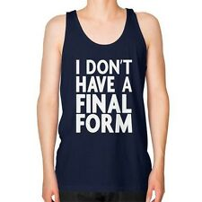"I DON""T HAVE A FINAL FORM Unisex Fine Jersey TANK TOP American Apparel, Evolving"