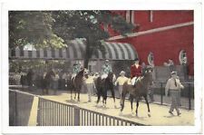 Postcard Horse Racing at Belmont Park in Long Island, New York~97007