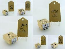 East of India New Animal Designs Rubber Craft Stamps