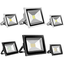 LED Floodlight 10/20/30/50W SMD Motion Activated Security Flood Light Warm Cool