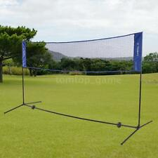 Foldable Portable 3/5M Badminton Net Volleyball Tennis Nets With Stand CN M4S2