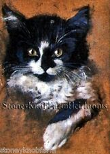 Black & White Kitten Portrait ~ Cats, Kittens ~ Cross Stitch Pattern
