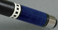 BLUE MCDERMOTT S5 STAR TWO PIECE BILLIARD POOL CUE STICK & FREE 1x1 SOFT CASE