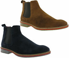 Roamers Dealer Suede Leather Mens Chelsea Riding Ankle Fashion Boots UK6-12