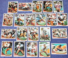 1994 94 Topps Tampa Bay Buccaneers team set (21) Trent Dilfer RC, Paul Gruber