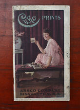 ANSCO CYKO MANUAL, 1915, 64 PAGES/cks/192246