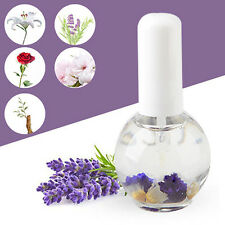 15ML Nail Cuticle Nutrition Replenishing Oil Lavender Scent Dried Flower Sturdy