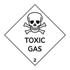TOXIC GAS Sign Shirt, American Apparel Unisex Style Tee, Funny Skull Warning