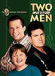 Two and a Half Men - The Complete Third Season (DVD, 2008, 4-Disc Set) NEW