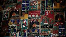 Holiday Home Decor Scene Fabric Traditions OOP Sold by 1/2 yard