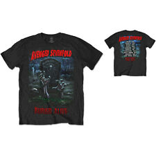 AVENGED SEVENFOLD Buried Alive Tour 2012 T-shirt 2-Sided Sizes S to XXL OFFICIAL