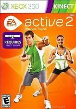 EA Sports Active 2 (Microsoft Xbox 360, 2010) VIDEO GAME CASE BOOKLET