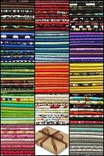 "10 FQ Fabric Bundle CHARM PACK - Packs - 100% COTTON Quilting Fabric 18""x22"""