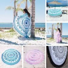 Indian Roundie Round Mandala Tapestry Beach Throw Towel Yoga Mat Bohemian AU