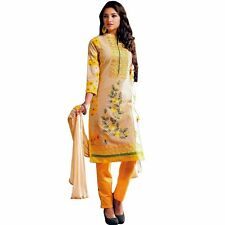 Designer Elegant Embroidery Cotton Salwar Kameez Readymade India-Venee-HR-2509-A