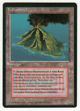 Vulkaninsel Volcanic Island Magic german limited black bordered beta Scan 16L060