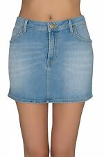 NEW Lee Mini skirt Rock Ladies Denim Blue L309BCQH Summer SALE