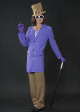 Adult Mens Willy Wonka Style Costume