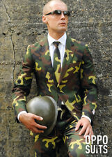 Adult Mens Army Camouflague Oppo Suit Costume