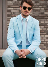 Adult Mens Cool Blue Oppo Suit Costume