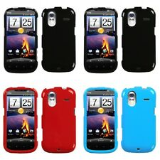 For HTC Amaze 4G Rigid Plastic Hard Snap-On Case Phone Cover