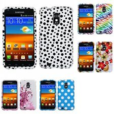 For Samsung Epic Touch 4G D710 Design Snap-On Hard Case Phone Cover