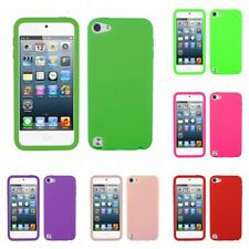 For Apple iPod Touch 5th 6th Gen Silicone Skin Rubber Soft Case Phone Cover