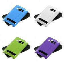 For HTC Evo 4G Hybrid Rugged Impact Hard Soft Case Phone Cover