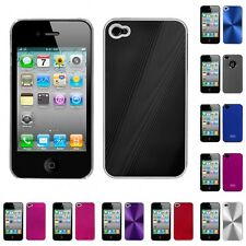For Apple iPhone 4/4S Aluminum Armor Cosmo Slim Hard Case Phone Cover