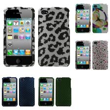 For Apple iPhone 4/4S Design Snap-On Hard Case Phone Skin Cover