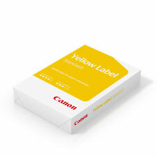 Canon Yellow Label A4 80gsm White Printer Paper - 500 Sheets