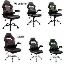 Sale Merax Ergonomic High Back PU Leather Office Chair Gaming Task Computer Desk