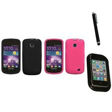 For Samsung Illusion i110 Silicone Skin Rubber Soft Case Phone Cover Mount+Pen
