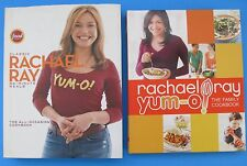 Rachael Ray Cookbook Set Classic 30-Minute Meals and Yum-O The Family Cookbook