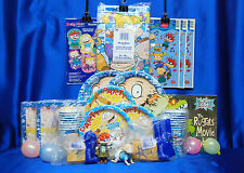 Rugrats Party Set # 23 Rugrats Party Supplies Tablecover PLates Napkins Candle