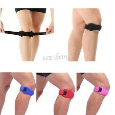 Adjustable Sports Knee Patella Tendon Support Guard Wrap Brace Strap Protection