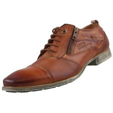 New BUGATTI Mens Low Shoes Lace-up Leather Shoes Shoes Business
