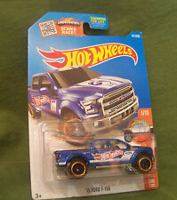 HOT WHEELS HW HOT TRUCKS, '15 FORD F-150 IN BLUE  PAINT #1/10 OR 141/250