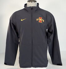 Nike Collegiate Iowa State Cyclones Gray Zip Front Insulated Jacket Mens NWT