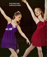 Lyrical Dance Costume Ballet Artstone Dress Skate Garden of Eden