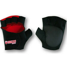 Grizzly Fitness Sticky Paws Weight Lifting Gloves - Black