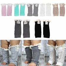 Infant Baby Boys Girl Toddler Leggings Warmers Socks Kid Leg Knee Pad Leg Boots