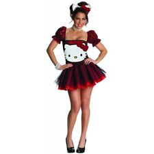 Hello Kitty Costume Adult Cat Halloween Fancy Dress